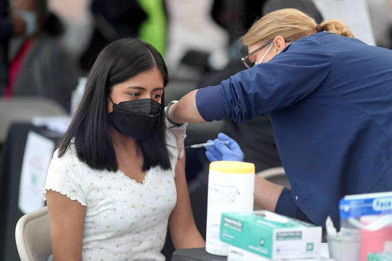 即便疫苗施打率佳,Delta變種病毒仍在美國快速傳播。(路透)
