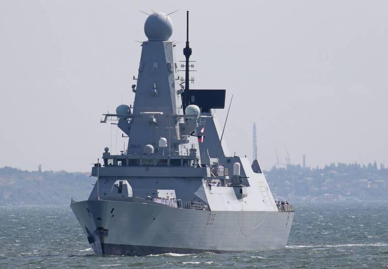 皇家海軍6艘45型(Type 45)驅逐艦中,有5艘妥善率不佳,僅剩「衛士號」(HMS Defender)能夠作戰。圖為「衛士號」。(路透資料照)