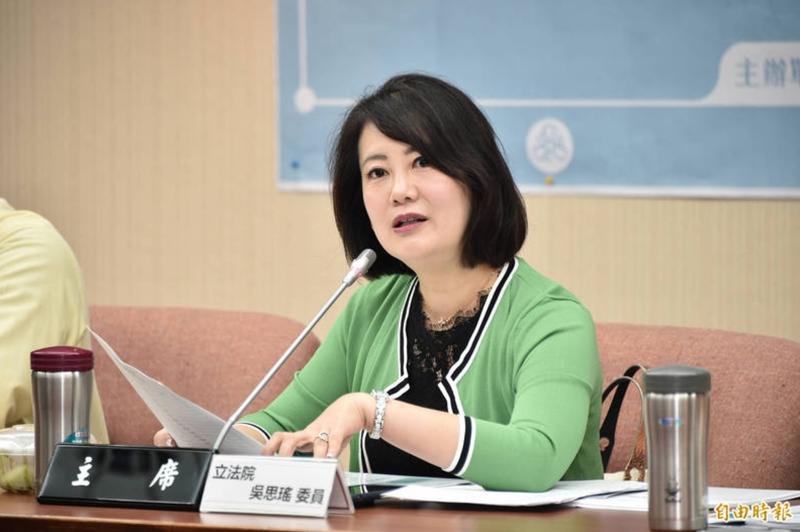 立委吳思瑤認為,台北打不完的疫苗分給台南打,就數字分析是可行的。(資料照)