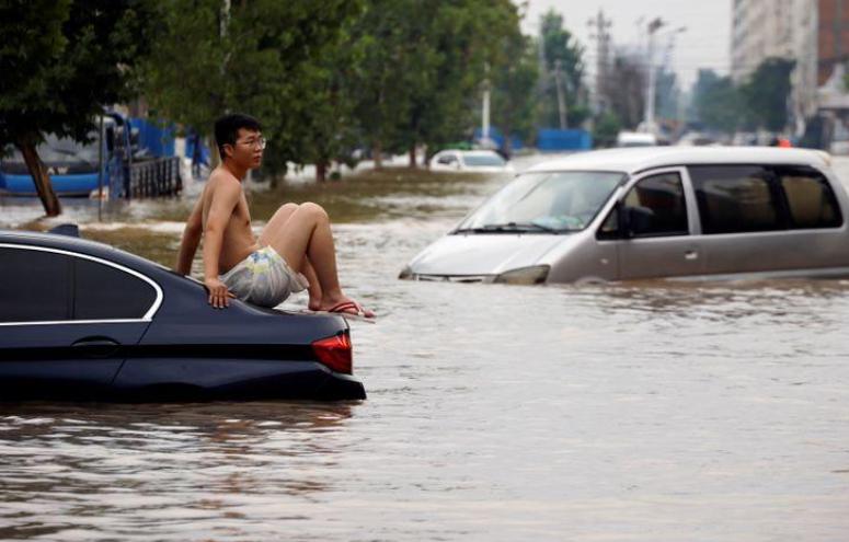 中國河南爆發豪雨洪災,死傷人數持續增加。(路透)