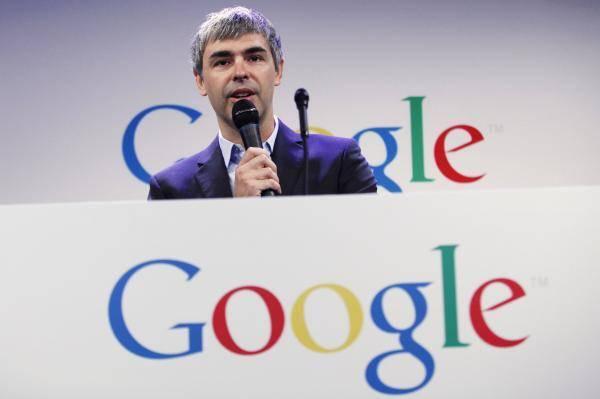 谷歌鮮少露面的聯合創辦人佩吉(Larry Page)。(路透社,資料照)