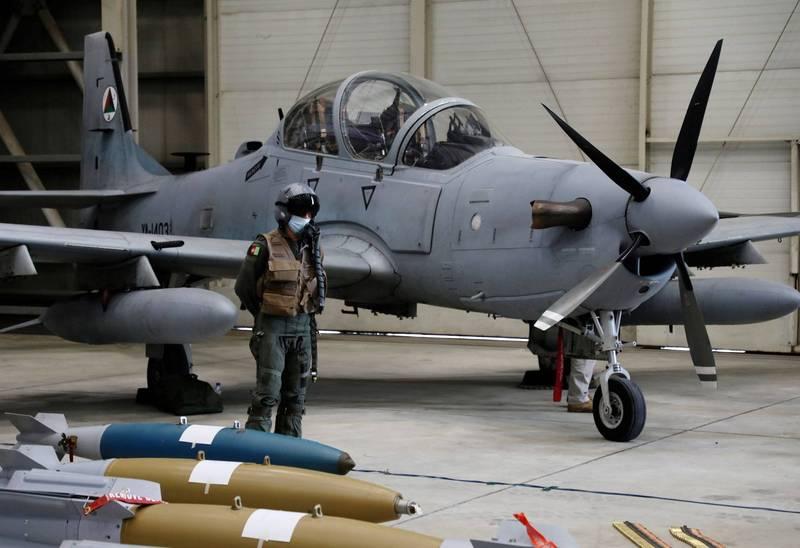 在美國同意軍售後,奈及利亞終於收到6架A-29超級大嘴鳥攻擊機,將用來打擊國內的叛亂分子。A-29示意圖。(路透)