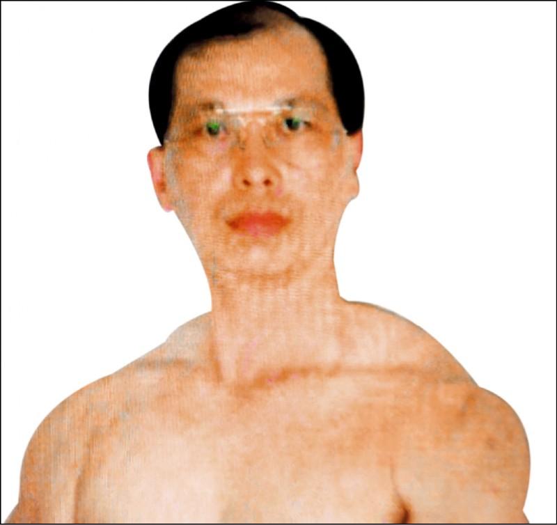 警界「周天師」周妙祥,過去就曾傳健身照給女學生。 (資料照,記者王俊忠翻攝)