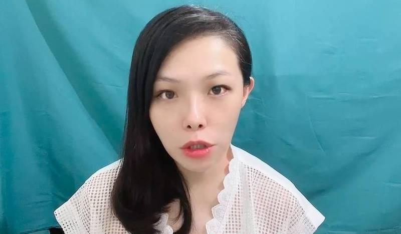 台灣民眾黨立委高虹安。(記者謝君臨翻攝)