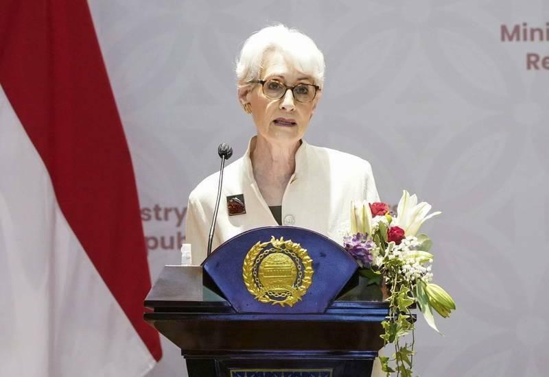 美國副國務卿雪蔓(Wendy Sherman)今明訪問中國,將先會見中國外交部副部長謝鋒,之後再與國務委員兼外交部長王毅會面。(歐新社)