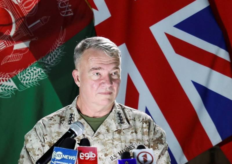 麥肯錫表示,若神學士持續發動攻擊,未來將會繼續加大對阿富汗軍隊的支持。(路透)