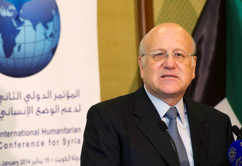 黎巴嫩今(26)日將舉行會談,磋商選出新總理,據當地媒體稱,億萬富翁、前總理米卡提(見圖)是最有力的人選。(路透)