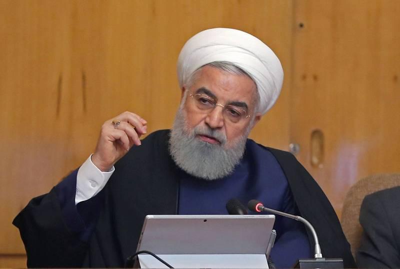 伊朗政府今日宣稱他們逮捕了一名以色列特工。圖為伊朗總統羅哈尼(Hassan Rouhani)。(法新社資料照)