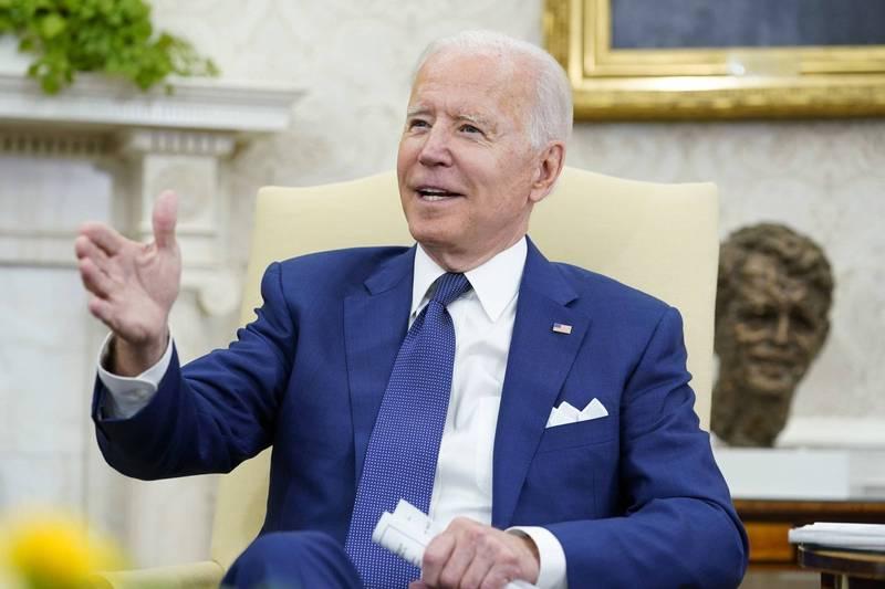 拜登表示,駐伊拉克美軍的戰鬥任務將在今年底結束。(美聯社)