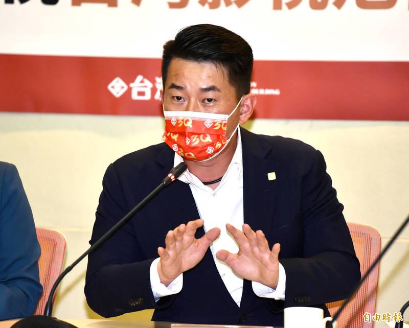 台灣基進立委陳柏惟在祝賀奧運桌球混雙奪銅時將鄭怡靜打成蘇怡靜,遭網友酸爆。(資料照)