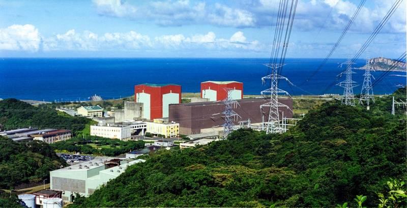 台電核二廠。(台電提供)