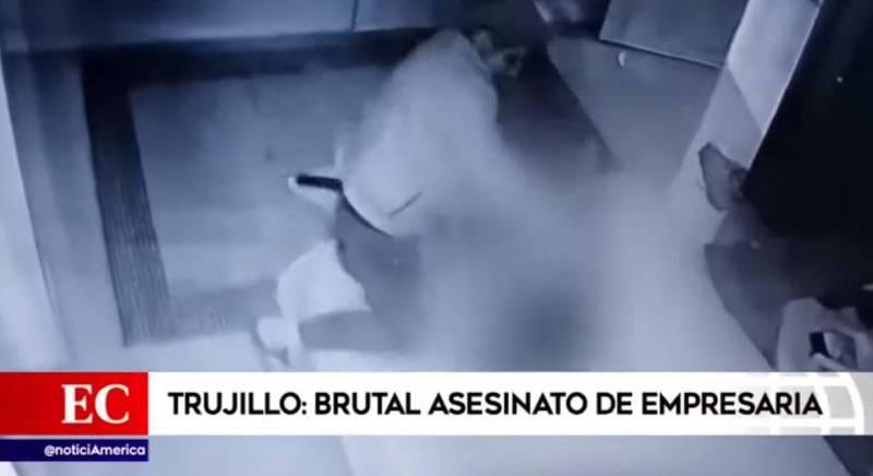 秘魯女子迪亞茲日前在家中臥室與男友親密連結時,卻遭前夫持刀闖入,狂砍39刀後喪命。(圖翻攝自Boletim de Ocorrências Paragominas官方YouTube)