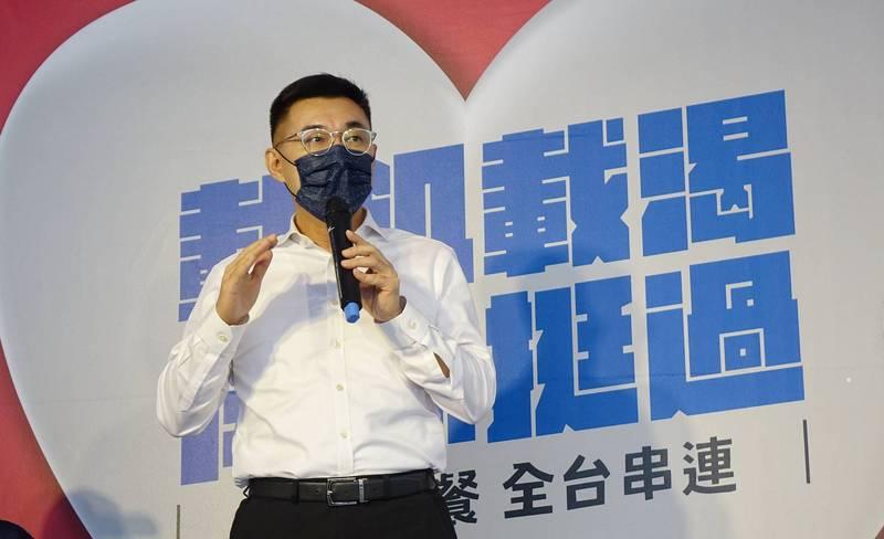 江啟臣稱國民黨2022努力方向,要以至少拿下14席直轄市、縣市長為目標。(資料照)