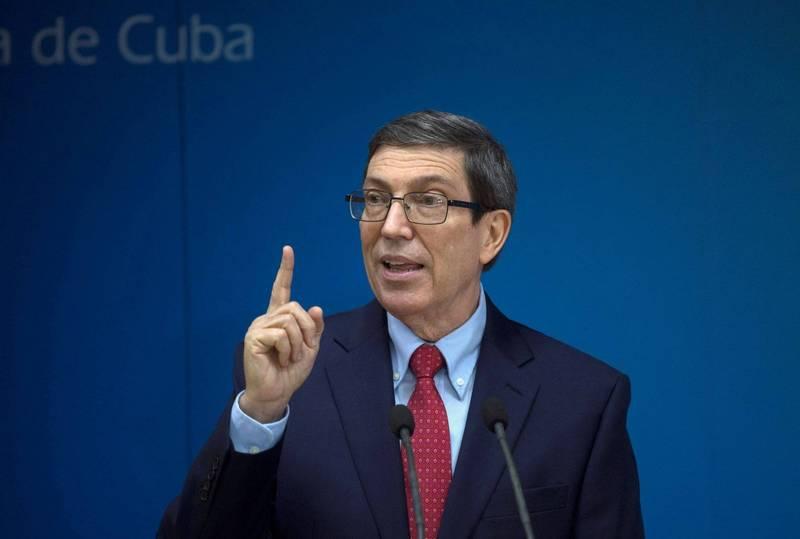 古巴駐巴黎大使館遭到汽油彈攻擊,疑似和古巴當局鎮壓國內抗議有關。古巴外交部長羅德里格茲將責任歸咎於美國。(路透)