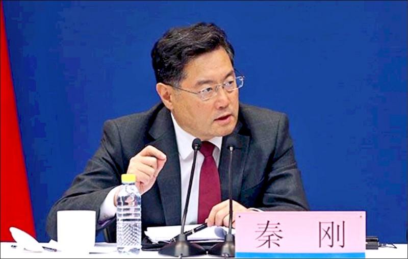 中國外交部副部長秦剛將出任中國駐美大使。(取自中國外交部官網)