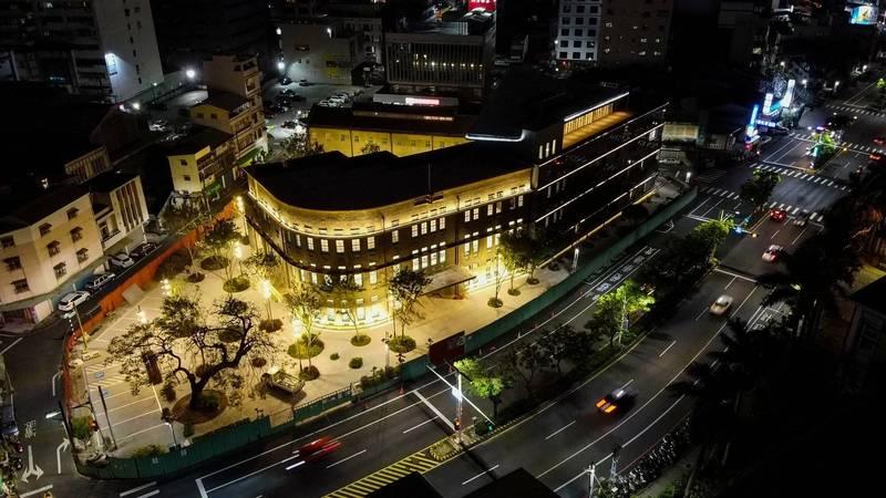 嘉義市立美術館是嘉義市知名文化觀光景點,也是市定古蹟。(嘉義市政府提供)
