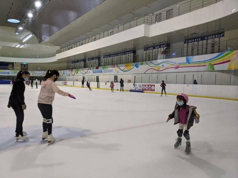 小巨蛋冰上樂園將於8月1日起重新開放。(圖由北捷提供)