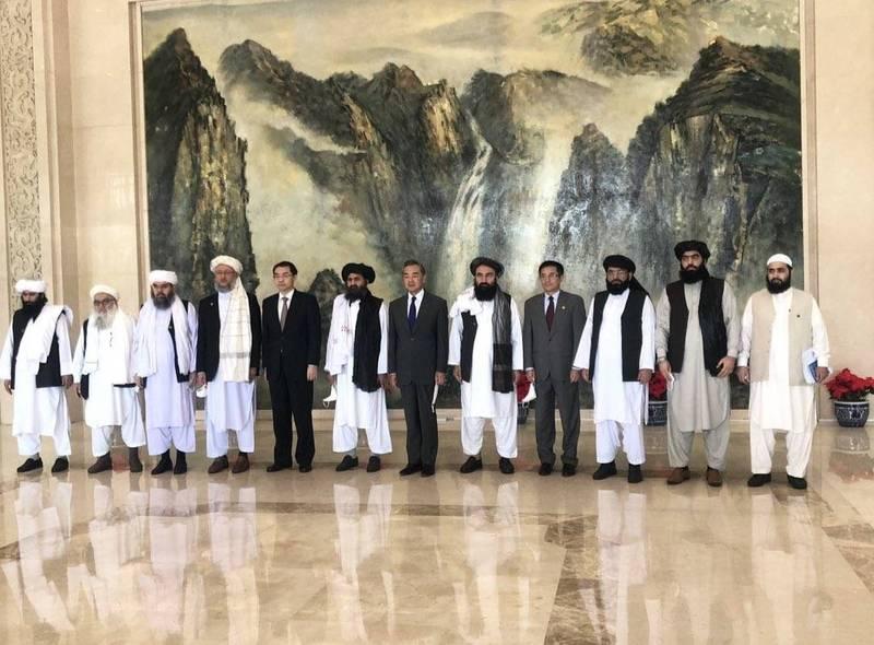 [趣事] 王毅接見塔利班代表 擬合作打擊恐怖組織