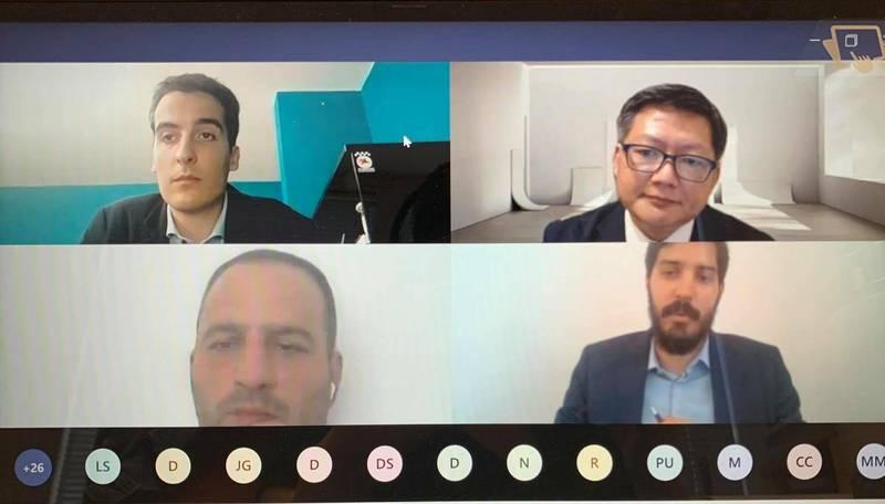 我國智庫「國防安全研究院」(INDSR)與塞爾維亞智庫「新第三道路」(The New Third Way)7月28日舉行視訊會議,共同討論如何處理中國共產黨的軟實力與假訊息宣傳。(駐匈牙利代表處提供)
