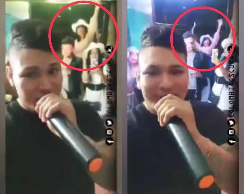 女子派對上「嗨過頭」,不慎從窗邊跌落。(圖取自/Colombia Oscura)