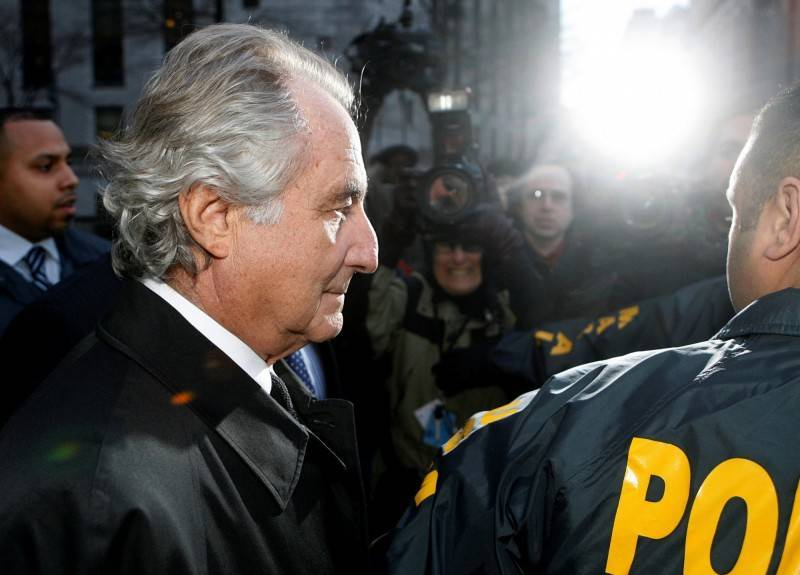 華爾街有史以來最大龐氏騙局策劃人馬多夫(Bernard Madoff)。(路透)