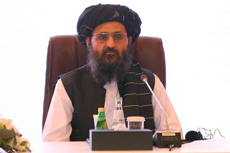 阿富汗神學士首席談判代表兼聯合創始人巴拉達(見圖)率團訪問中國。(資料照,法新社)
