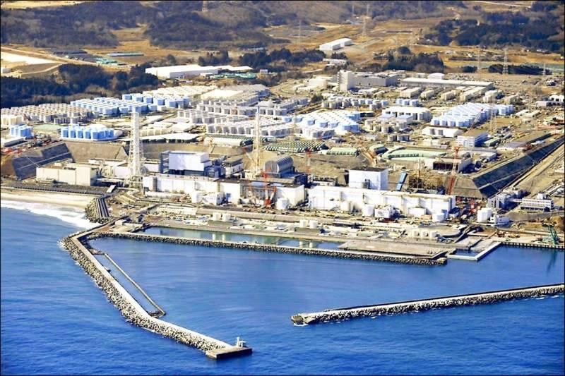 福島第一核電廠。(美聯社檔案照)