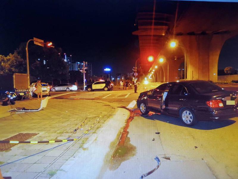 發生事故的路口。(民眾提供)