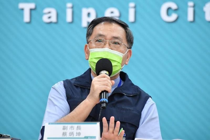 台北市副市長蔡炳坤。(北市府提供)