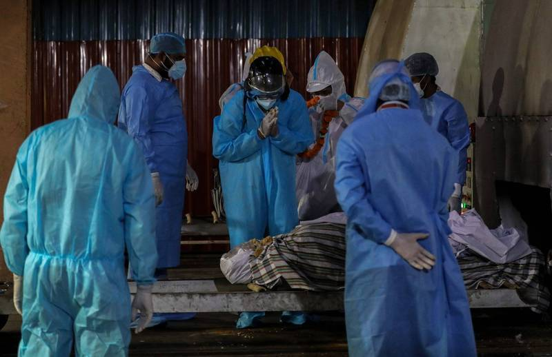 據世界衛生組織(WHO)指出,Delta變種病毒目前已擴散至132個國家,上週病例更持續增加,單週新增超過380萬例。示意圖。(歐新社)