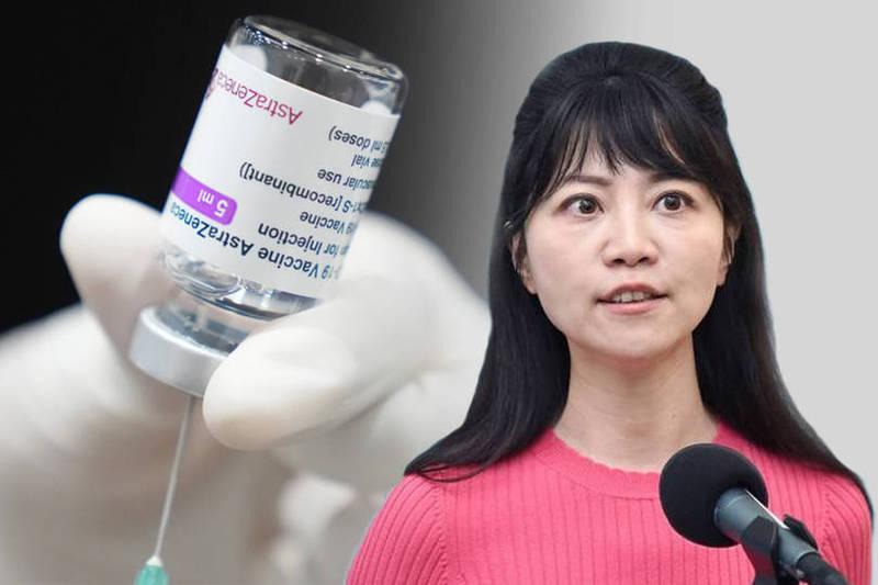 民進黨籍立委高嘉瑜(見圖)替禾馨診所喬疫苗,被台北市長柯文哲爆料,引來各界質疑。(資料照、美聯社;本報合成)