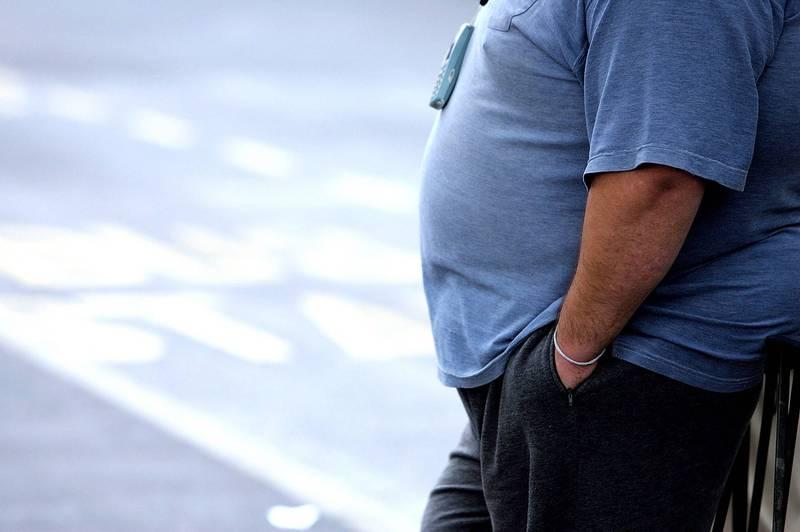 過度肥胖是現代人愈來愈常出現的文明病,隨著肥胖人口增多,不只國民健康出現問題也會增加社會成本,此為示意圖。(法新社檔案照)