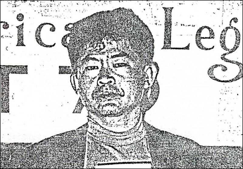 「美鷹會」大哥王鑫曾在美國遭美國警方逮捕。(記者莊榮宏翻攝)