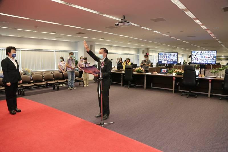 中市教育史上首見!90名新、連任校長今「線上布達」。(圖:市府提供)
