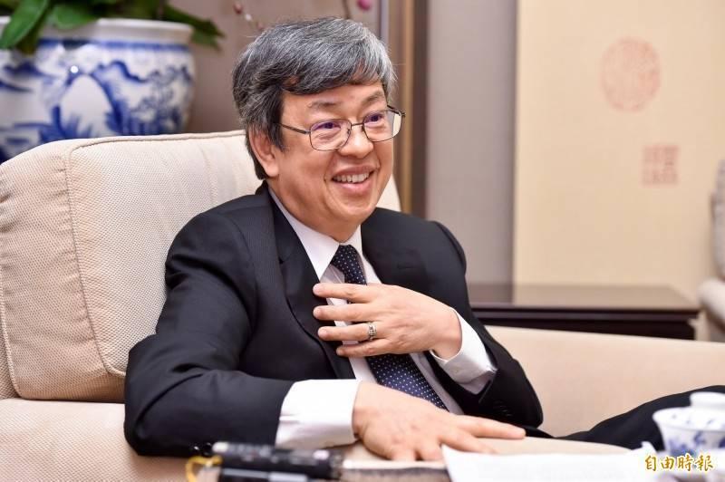 前副總統、中研院院士陳建仁,獲教宗方濟各任命為宗座科學院院士。(資料照)