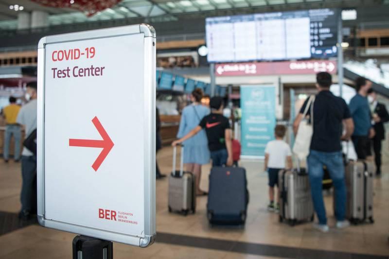 德國本週擬擴大入境檢驗。(法新社)