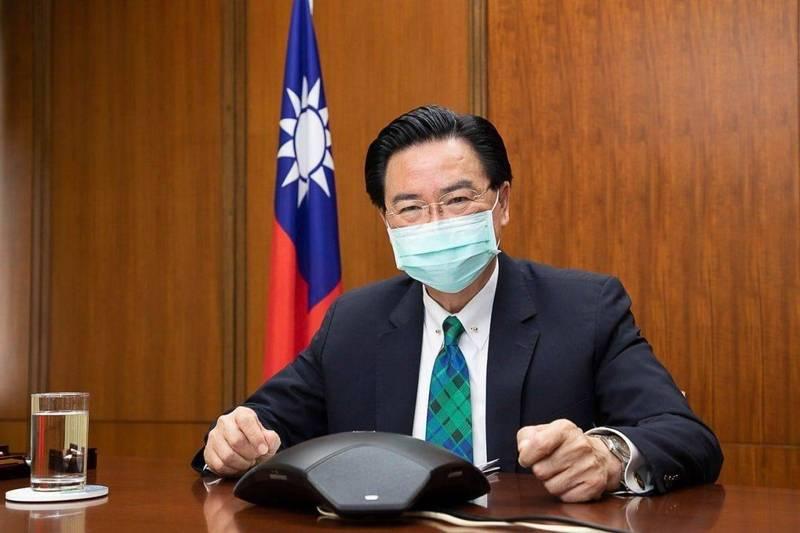 外交部長吳釗燮22日接受葡萄牙媒體專訪,說明中國對台灣的威脅、台灣防疫經驗、台美關係進展及台灣將於立陶宛設立代表處等議題,訪談內容已於28日刊出。(資料照,外交部提供)