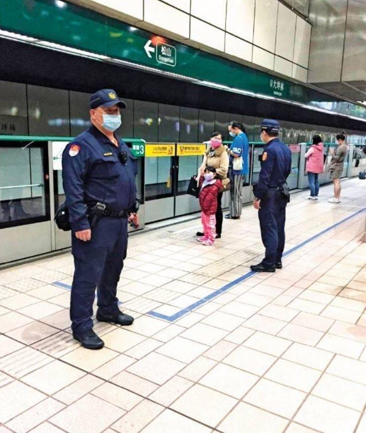 陳男曾嗆炸北捷,造成警方加強警方維護周邊安全。(資料照)