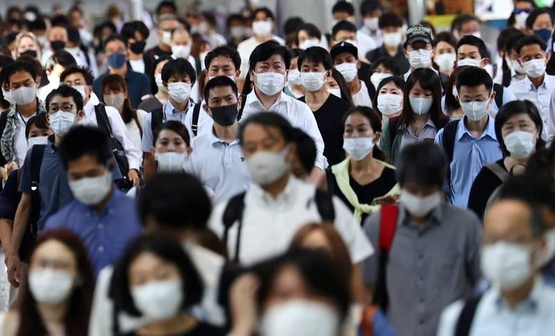 武漢肺炎(新型冠狀病毒病,COVID-19)疫情在日本境內再度急速擴大,壓迫醫療系統。圖為東京街景,示意圖。(路透)