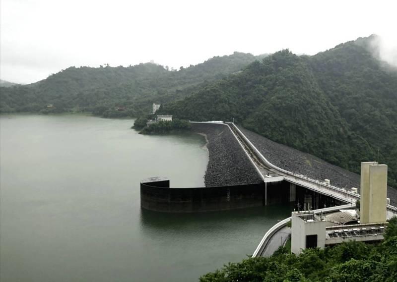 上游降雨豐沛,曾文水庫蓄水率已破7成5。(南水局提供)