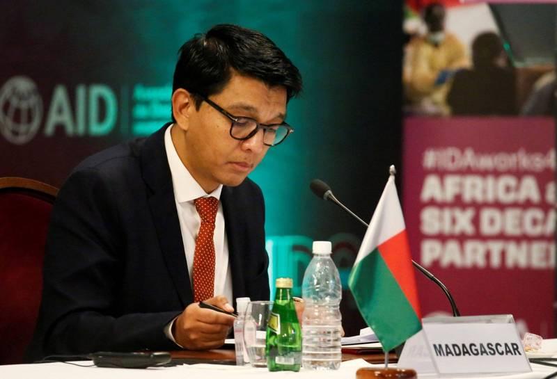 馬達加斯加總統拉喬利納(Andry Rajoelina,圖),日前險遭密謀暗殺,嫌犯竟包括5名現役將軍。(路透)
