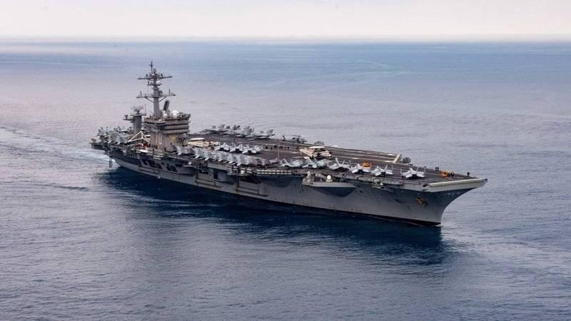 军情动态》携一个中队F-35C  美军卡尔文森号航舰挺进印太部署