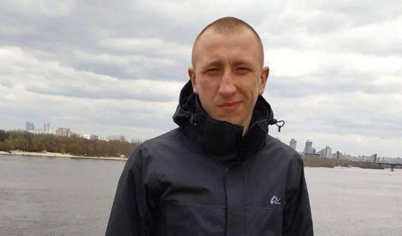 幫助白俄羅斯人民外逃的席紹夫,昨天驚傳失蹤,今天就被發現陳屍在自家住宅附近公園。(圖翻攝自推特)
