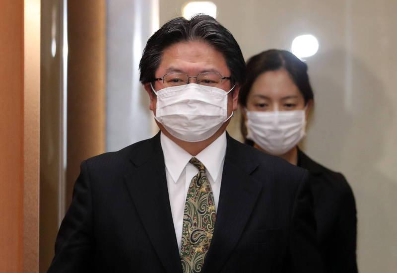 日本駐韓副使相馬弘尚7月惹出失言風波,日本外務省1日發布人事令將相馬調回國內。(歐新社資料照)