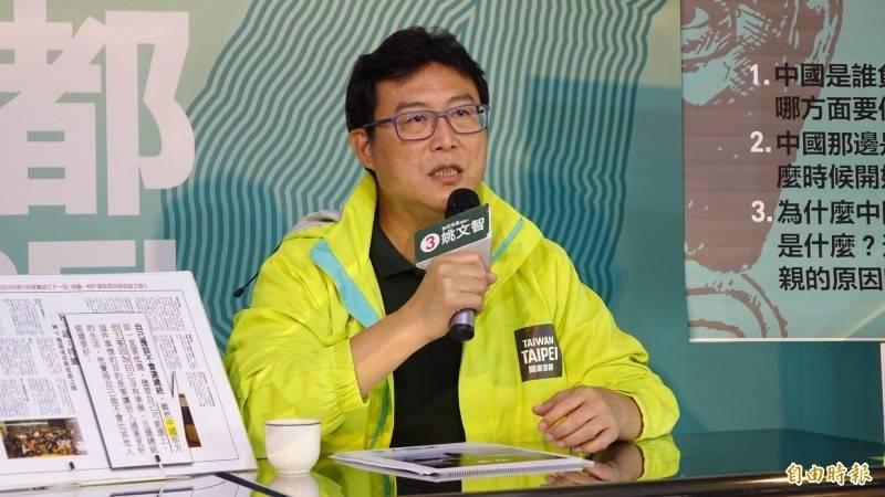 姚文智對郭台銘喊話,表示自己曾提出「台北羽球公開賽」升級改名主張,拜託郭台銘拿去用。(資料照)