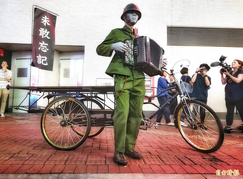 Kacey Wong is pictured in an undated photograph taken from his Facebook page. Photo copied by Chen Cheng-liang, Taipei Times