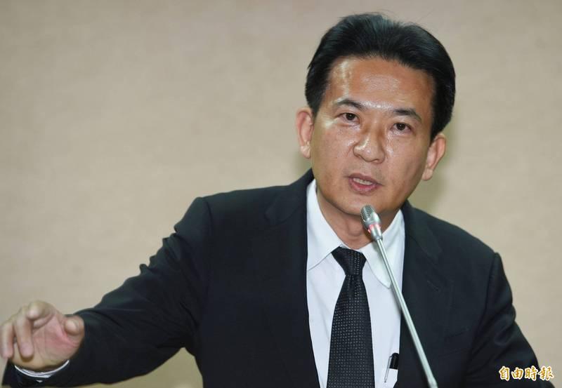 林俊憲(見圖)指出近年政府對運動員的關注與支持都是前所未見。(資料照)