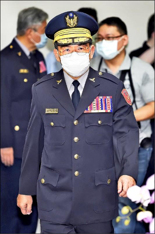 新任市警局長楊源明。(資料照)