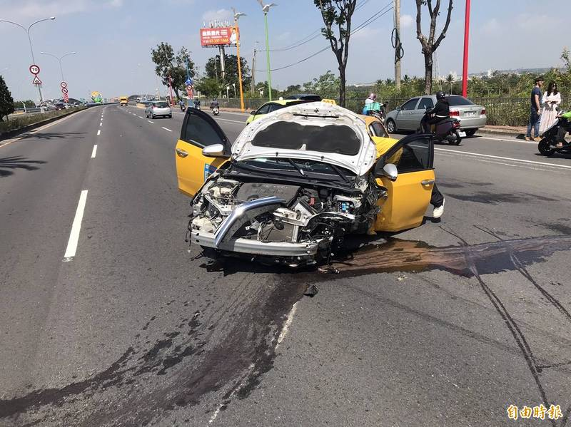 交通事故發生往往是駕駛人搶快所致,8月份屏東警方將強力抓超速。(記者葉永騫攝)