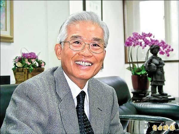 台灣糖業協會前董事長張有惠。(資料照)